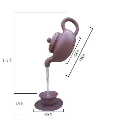 悬空壶-悬空茶壶-自动出水的景观壶